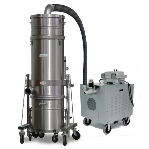 Portable Explosion Proof/Dust Ignition Proof Dust Collectors - High Pressure