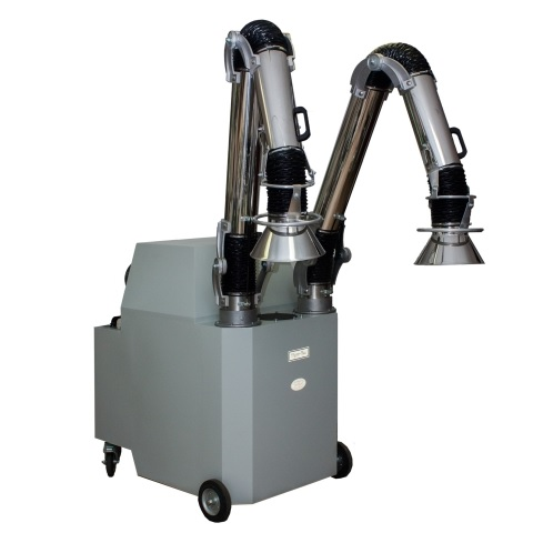 Portable Low Pressure Explosion Proof Dust Collectors from 600 to 1200 CFM