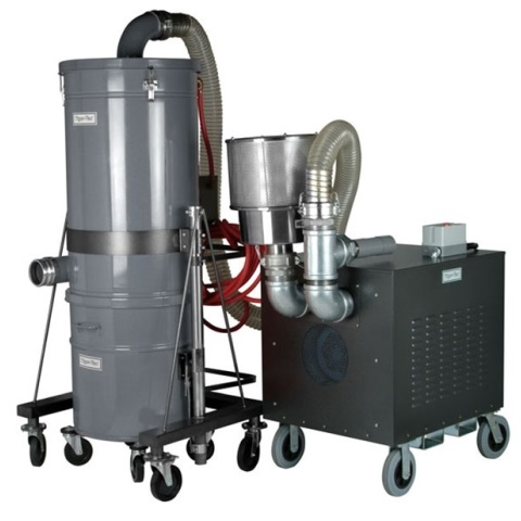 Portable High Pressure Dust Collectors for unclassified (general purpose) areas
