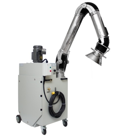 Portable Low Pressure Dust Collectors for unclassified (general purpose) areas from 600 to 1200 CFM